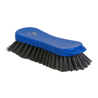 Detectable hand scrub - stiff PBT bristle, 210mm, blue