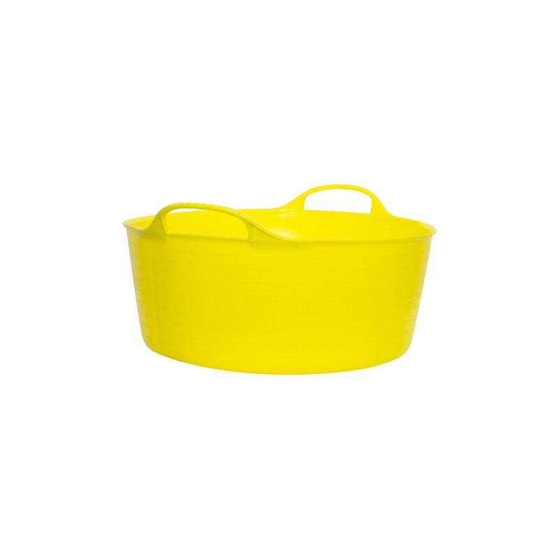 Red Gorilla Tub Yellow Small Shallow 15L
