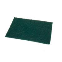 Green Flat Scourer 9 x 6'' (WT831)