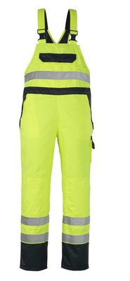 MASCOT Wels Bib & Brace Over Trousers with kneepad pockets