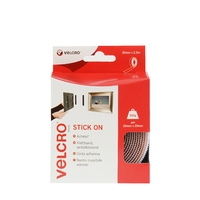 VELCRO WHITE TAPE 20 MM X 2.5 MTR