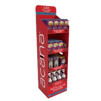 Acana Slimline Moth Floor Standing Display Unit