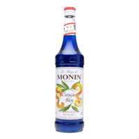 Blue Curacao Syrup Monin Glass Bottle 70cl