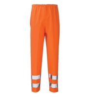 Rhodium Waterproof PU Trousers Hi-Vis Orange (GORT)