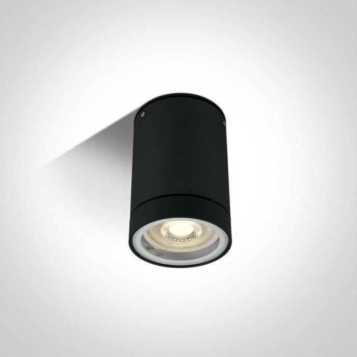 One Light Cylinder GU10 Downlight 35W IP54