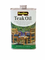 RUSTINS TEAK OIL 1LTR