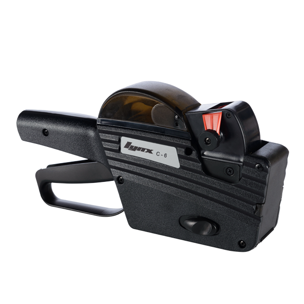 LYNX C-6 One-Line Price Gun with 6 Numeric Bands
