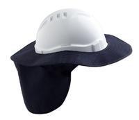 Pro V6 & V9 Hard Hat Brim & Neck Flap Polycotton