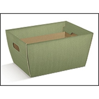 TRAY HAMPER 335X240X200MM SAGE GREEN