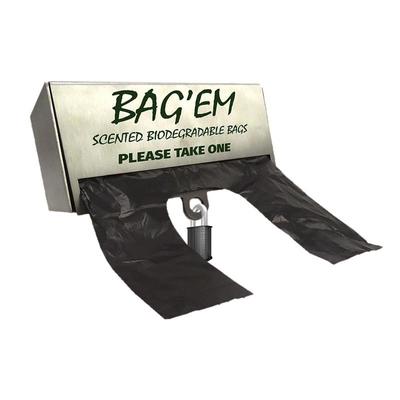 BAG'EM on a Roll Starter Pack (10 x 200 + Lockable Dispenser)