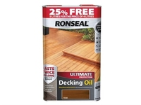 RONSEAL ULTIMATE PROTECTION DECKING OIL TEAK 4LTR+25%FREE