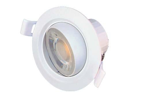 LED PVC TILT DOWNLIGHT WH, CCT