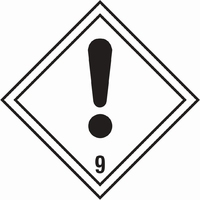 Dangerous Substances Sign DANG0011-0296