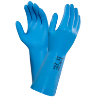 Ansell Versatouch 37-210 Blue Household Gloves, Pair