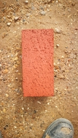 RED ENGINEERING BRICK SOLID