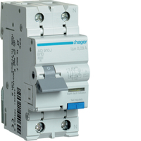 Hager 10amp RCBO B Type