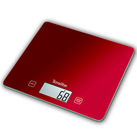 TERRAILLON DIGITAL KITCHEN SCALE RED