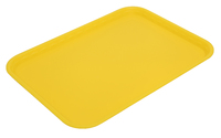 Flat Tray Yellow 41X30cm - Polypropylene