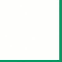 "Mountboard White On Green 40"" x 32"" 1600mic"