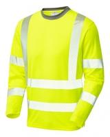Leo CAPSTONE ISO 20471 Cl 3 Coolviz Plus Sleeved T-Shirt