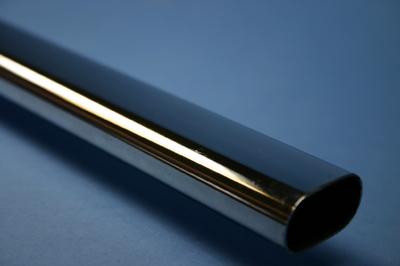 Chrome Oval Tubing 2.5 Metre