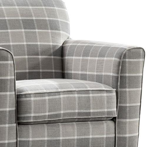 Braemar Tartan Accent Chair_Zoom