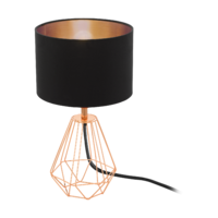 Copper And Black Table Lamp Small | LV1902.0020