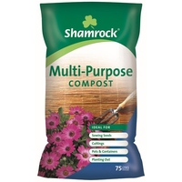 Shamrock Multipurpose Compost 75 Litre