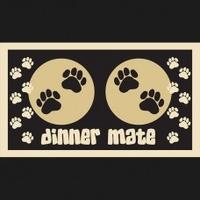 Pet Rebellion Dinner Mate Black x 1