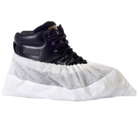 Deluxe Anti-Slip Shoe Covers White (Pack 100)