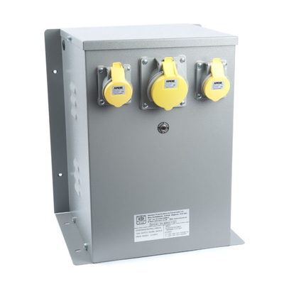 WS Enclosed 240/110V Input Protected Transformer 6kVA