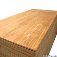 HARDWOOD PLYWOOD FACED 8' X 4' X 6MM