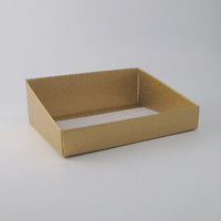 Gold High Back Hamper Tray