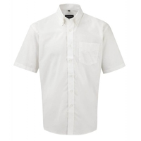 Russell Gents Short Sleeve Oxford Shirt