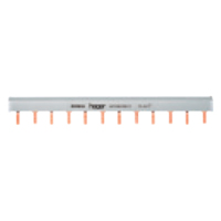 Hager KB263C 63A 2 Pole Insulated Busbar 24 Mod 10mm