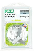Aluminium Greenhouse Lap Strips (Pack 50) - GH005