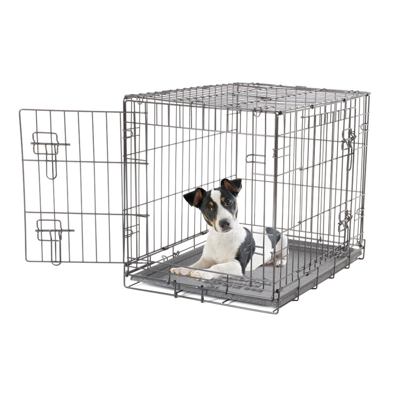 Dogit 2 Door Black Dog Crate - Small