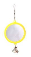 Beaks Round Bird Mirror & Bell - Large x 1