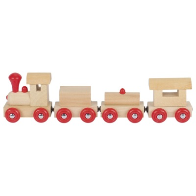 Wooden Train - Prag