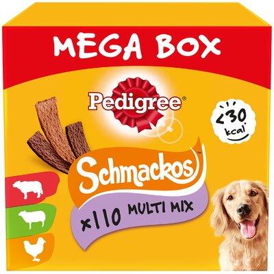 Pedigree Schmackos Dog Sticks Multi MEGA BOX 790g x 1