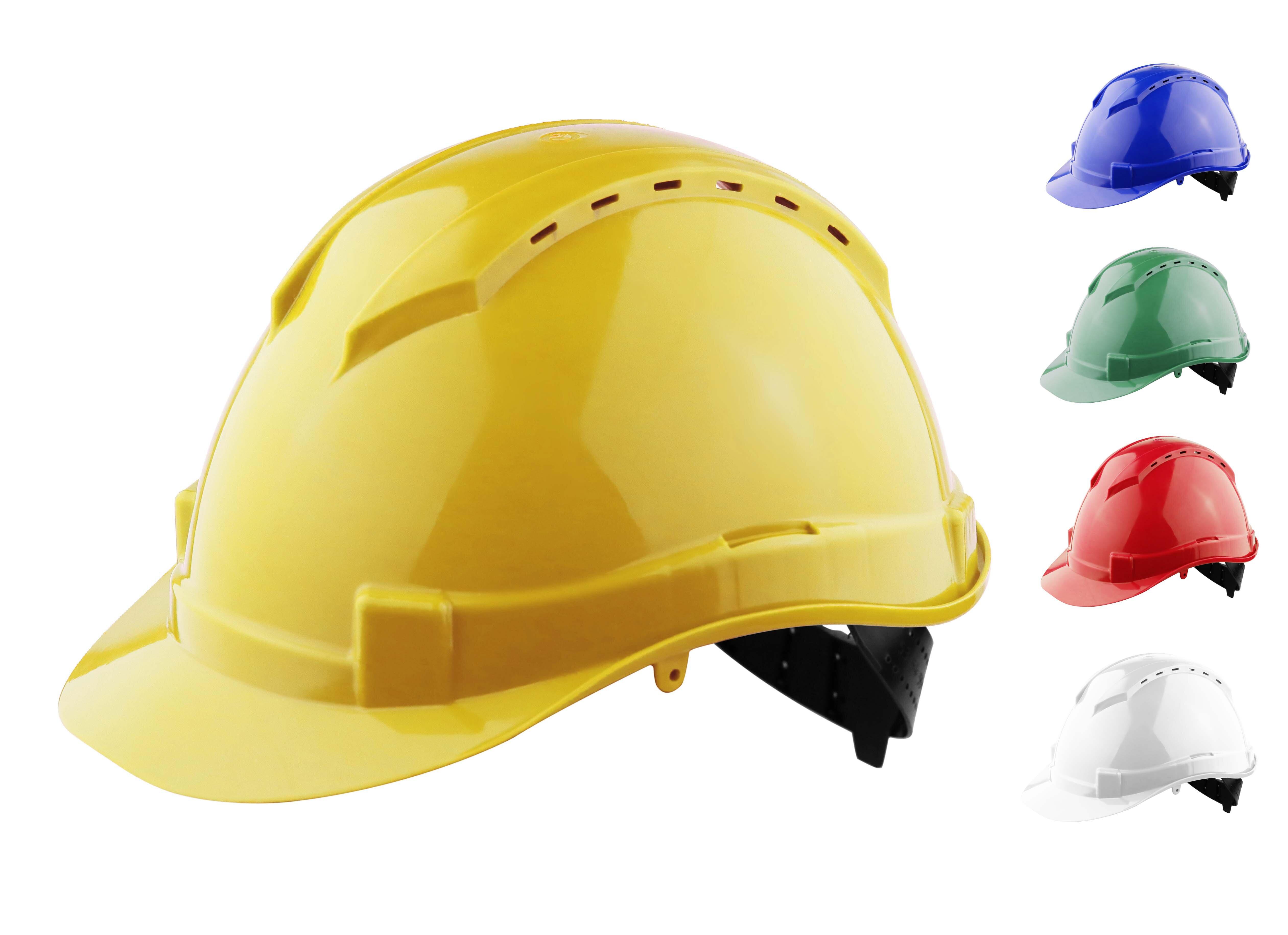 REDBACK Apex Comfort Plus Hard Hat/Helmet (Terylene Harness)