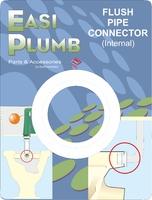 Easi Plumb Internal Plastic Flush Pipe Connector