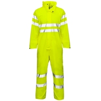 Supertouch Storm-Flex PU Coverall Hi-Visibility with Tape, Yellow