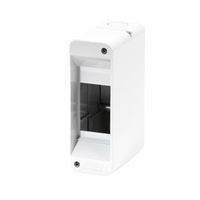 Gewiss 2 MOD Surface IP40 Enclosure No Door
