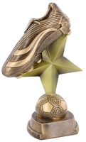 19cm Soccer Boot on Star & Ball
