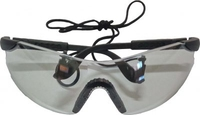 Power Clear Safety Specs with Neck Cord