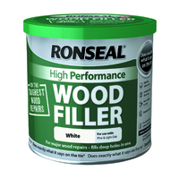 Ronseal High Performance Wood Filler 550g White