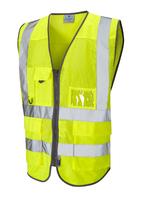 Leo COBBATON ISO 20471 Cl 2 Coolviz Superior Waistcoat