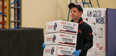Klipspringer supports Family Food Box charity through Covid-19