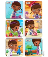 MEDIBADGE - DOC MCSTUFFINS STICKERS